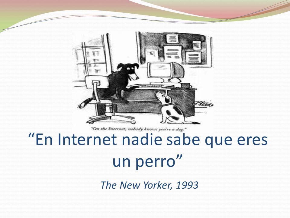 En Internet nadie sabe que eres un perro The New Yorker, 1993