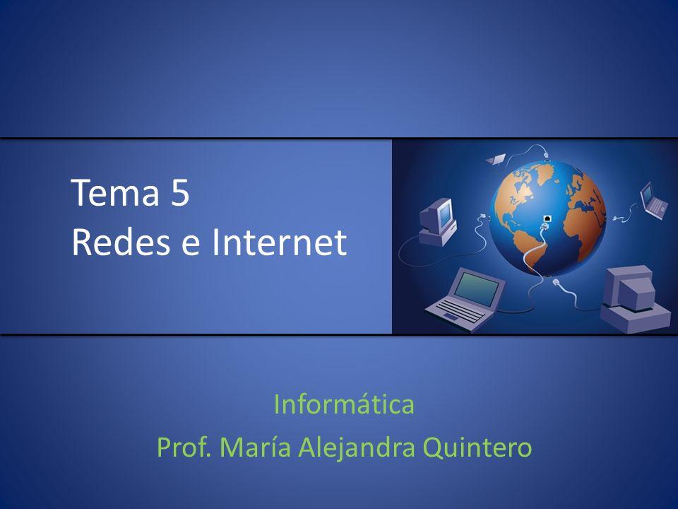 Informática Prof. María Alejandra Quintero