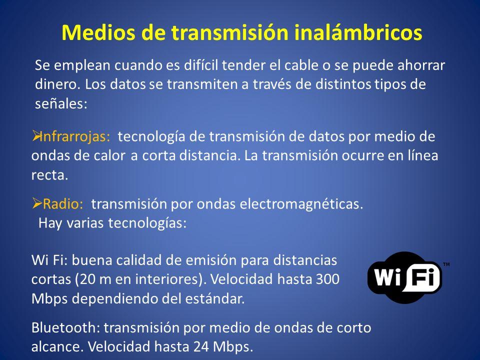 Medios de transmisión inalámbricos