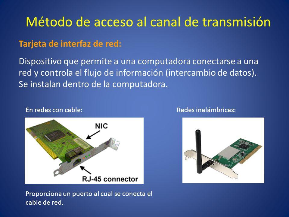 Método de acceso al canal de transmisión