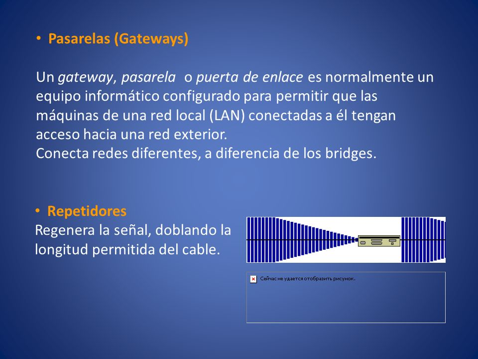 Pasarelas (Gateways)