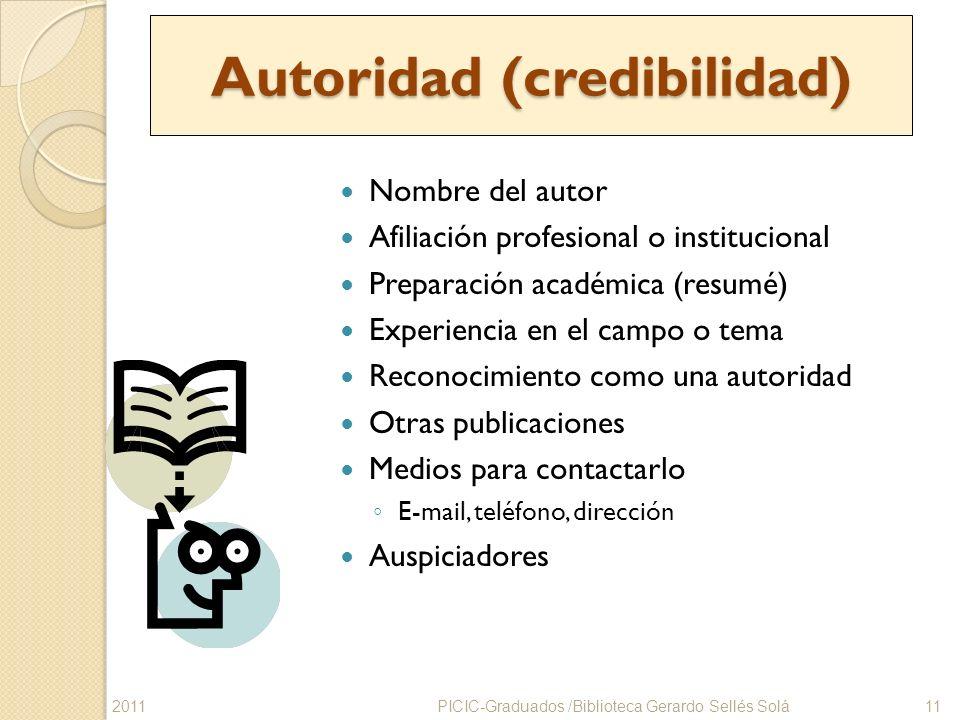 Autoridad (credibilidad)