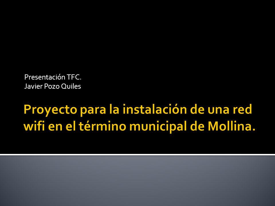 Presentación TFC. Javier Pozo Quiles
