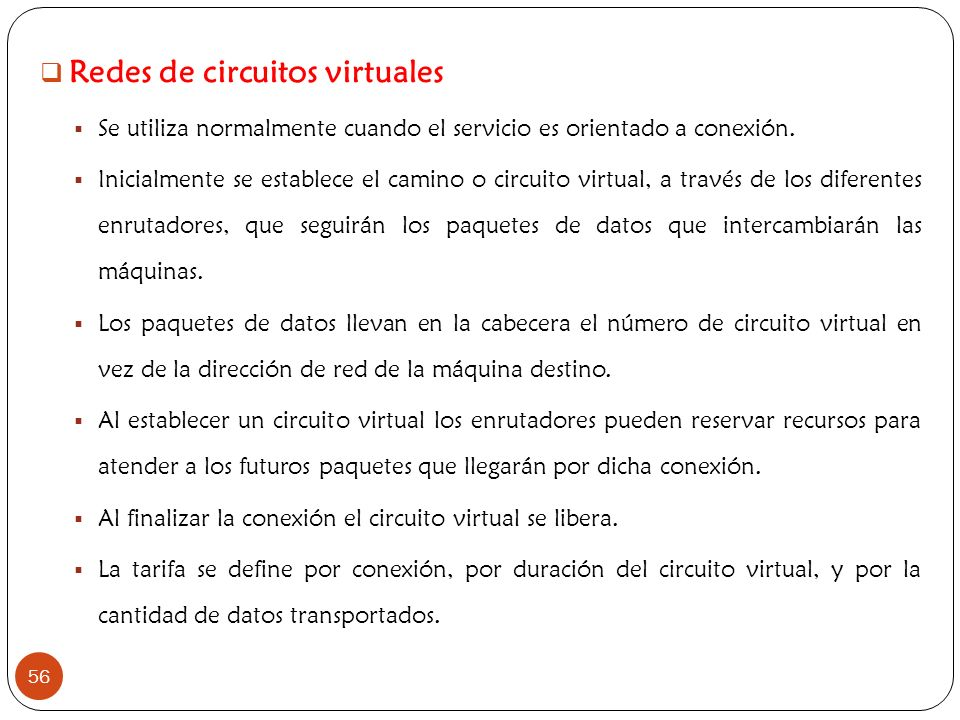Redes de circuitos virtuales