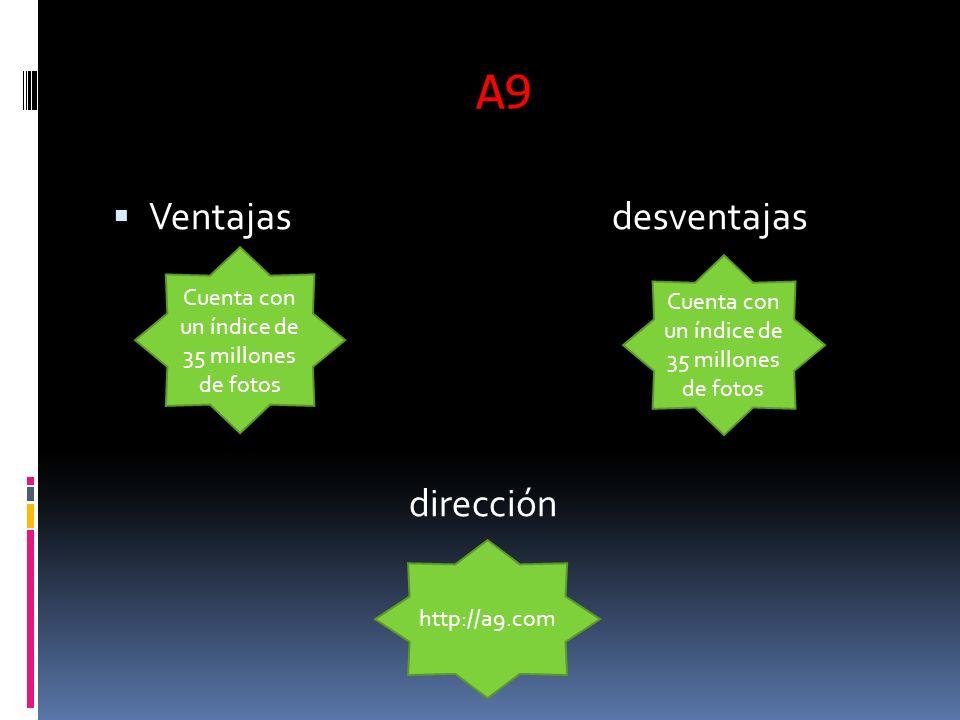 A9 Ventajas desventajas dirección