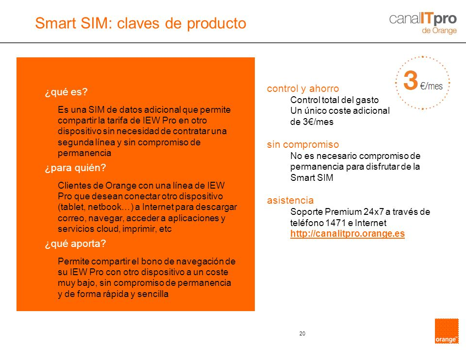 Smart SIM: claves de producto