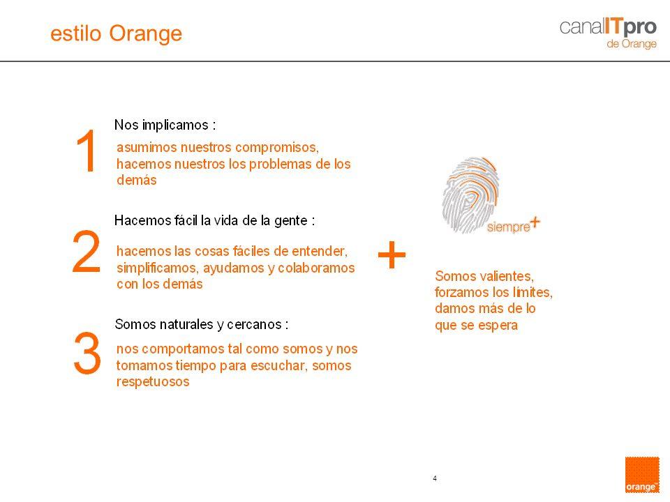 estilo Orange