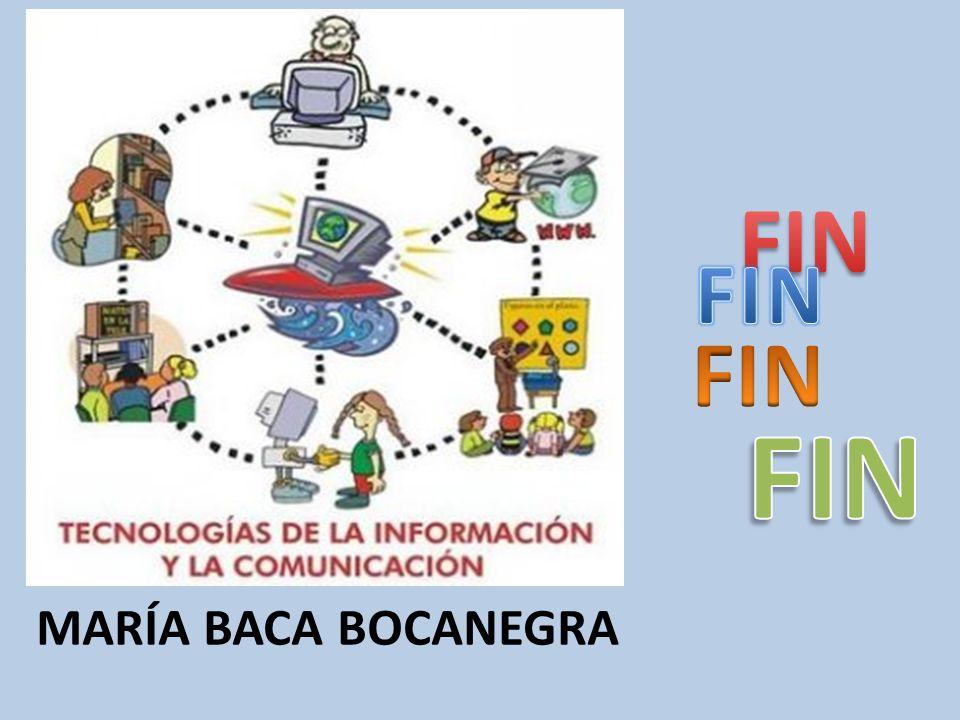 FIN FIN FIN FIN María baca bocanegra