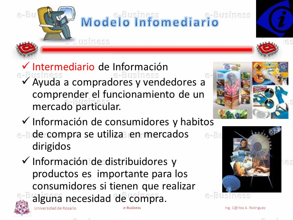 Modelo Infomediario Intermediario de Información