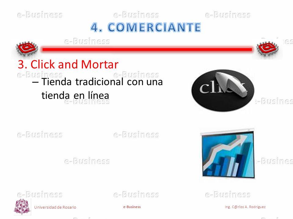 4. COMERCIANTE 3. Click and Mortar
