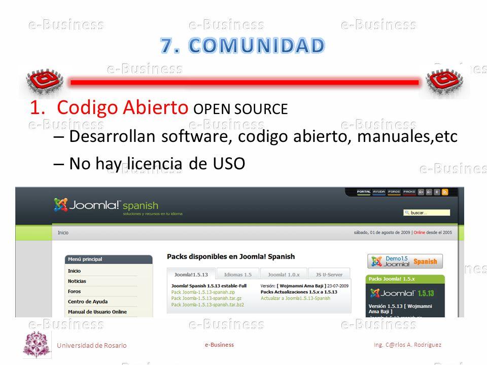 Codigo Abierto OPEN SOURCE