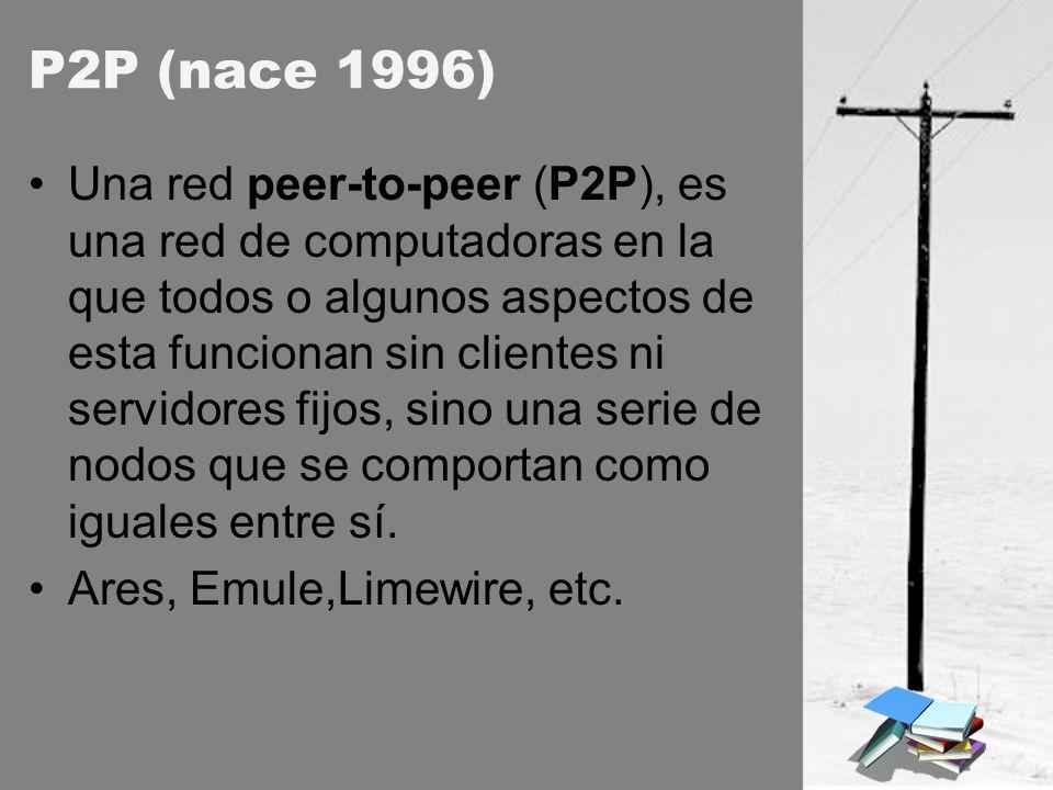 P2P (nace 1996)