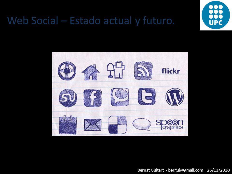 Web Social – Estado actual y futuro.