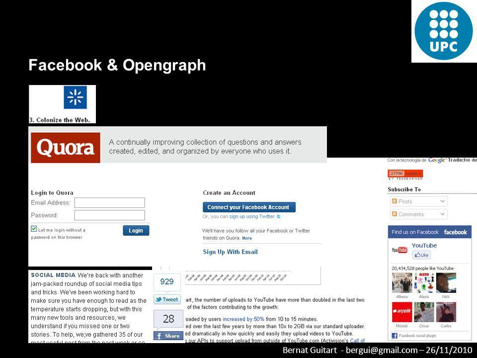 Facebook & Opengraph