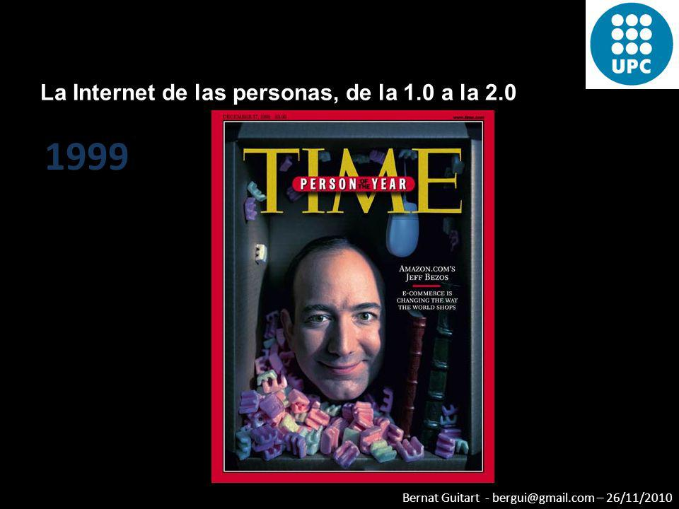 La Internet de las personas, de la 1.0 a la 2.0