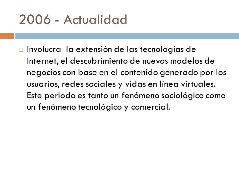 2006 - Actualidad