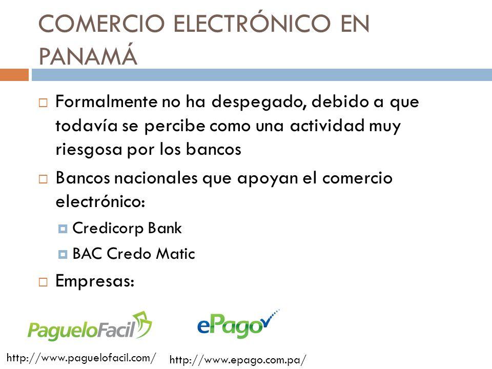 COMERCIO ELECTRÓNICO EN PANAMÁ