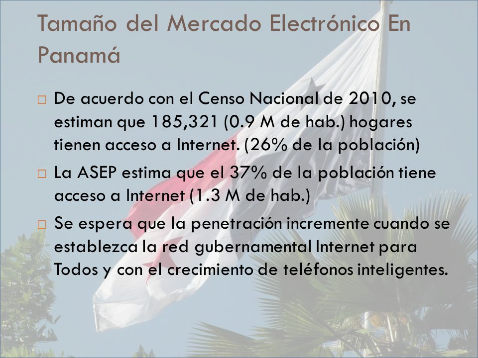 Tamaño del Mercado Electrónico En Panamá
