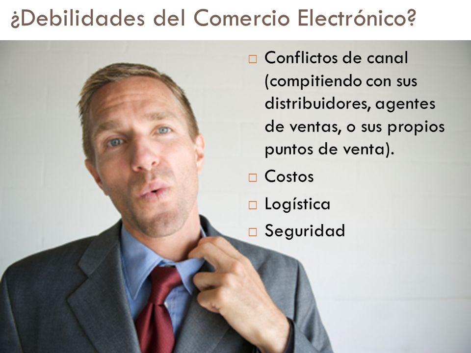 ¿Debilidades del Comercio Electrónico
