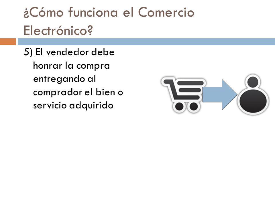 ¿Cómo funciona el Comercio Electrónico