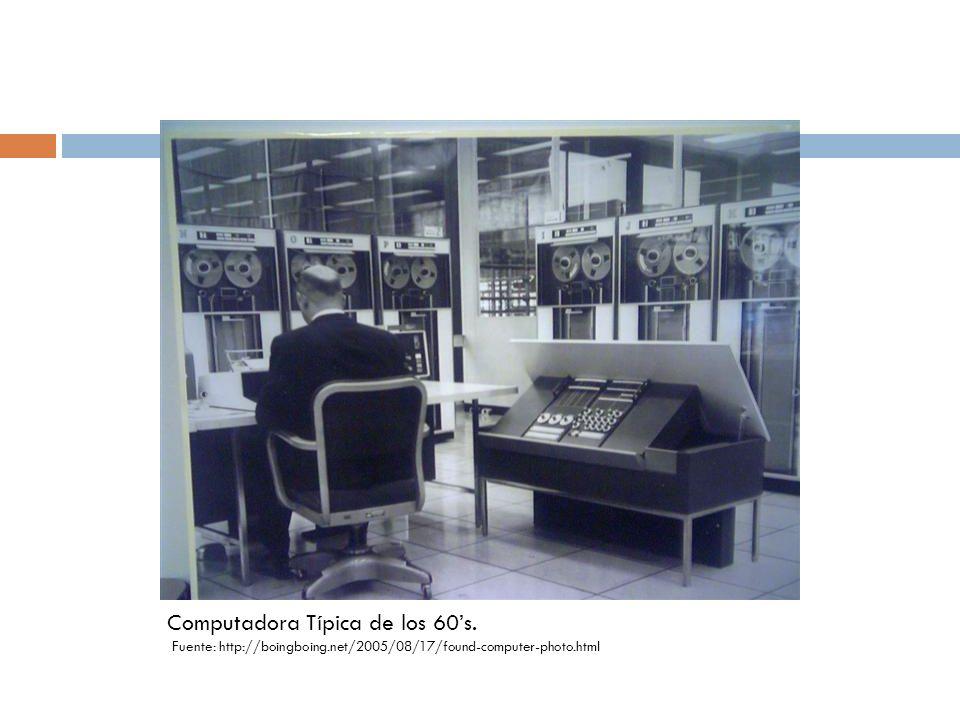 Computadora Típica de los 60's.