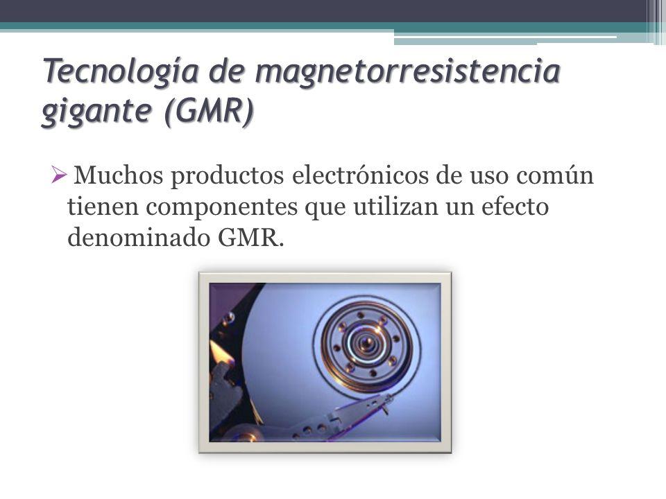 Tecnología de magnetorresistencia gigante (GMR)