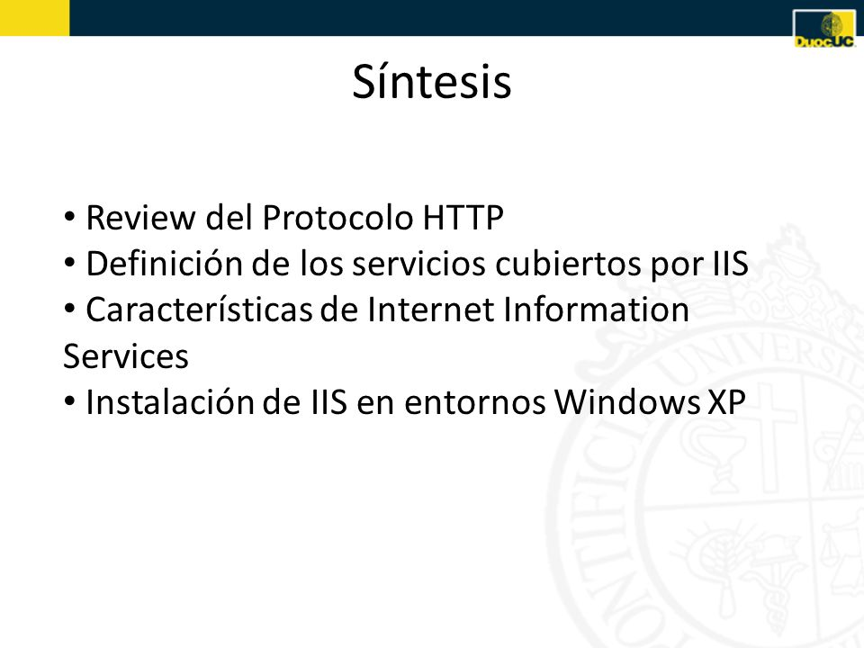 Síntesis Review del Protocolo HTTP