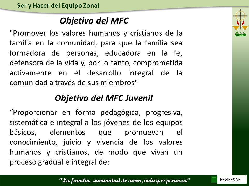Objetivo del MFC Juvenil