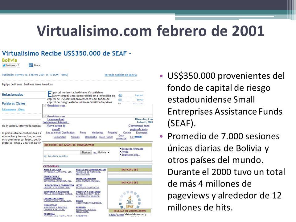 Virtualisimo.com febrero de 2001