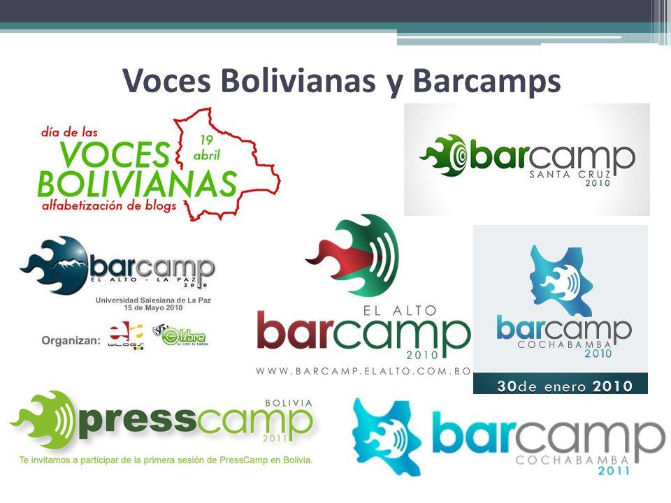 Voces Bolivianas y Barcamps