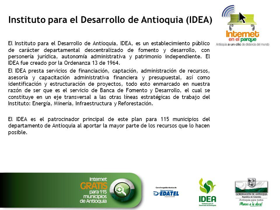Instituto para el Desarrollo de Antioquia (IDEA)