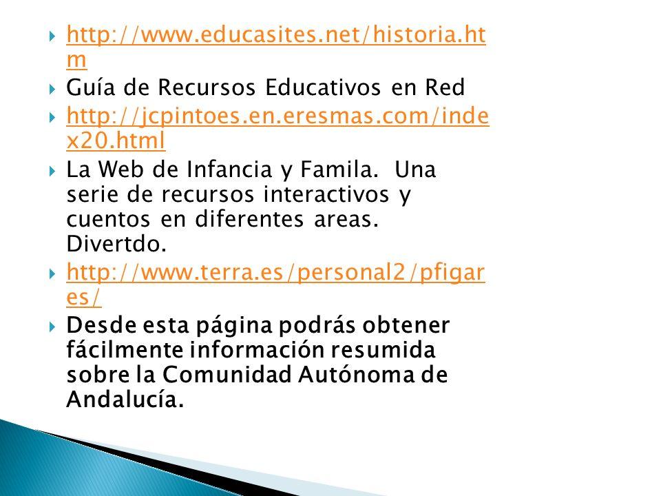http://www.educasites.net/historia.ht m