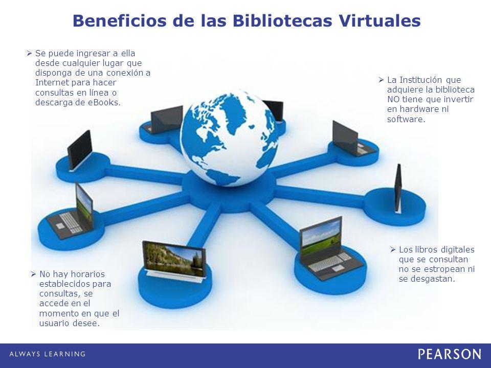 Beneficios de las Bibliotecas Virtuales