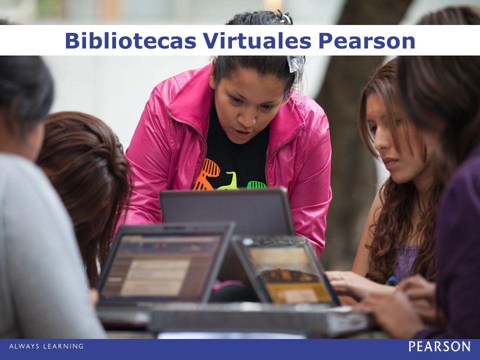 Bibliotecas Virtuales Pearson