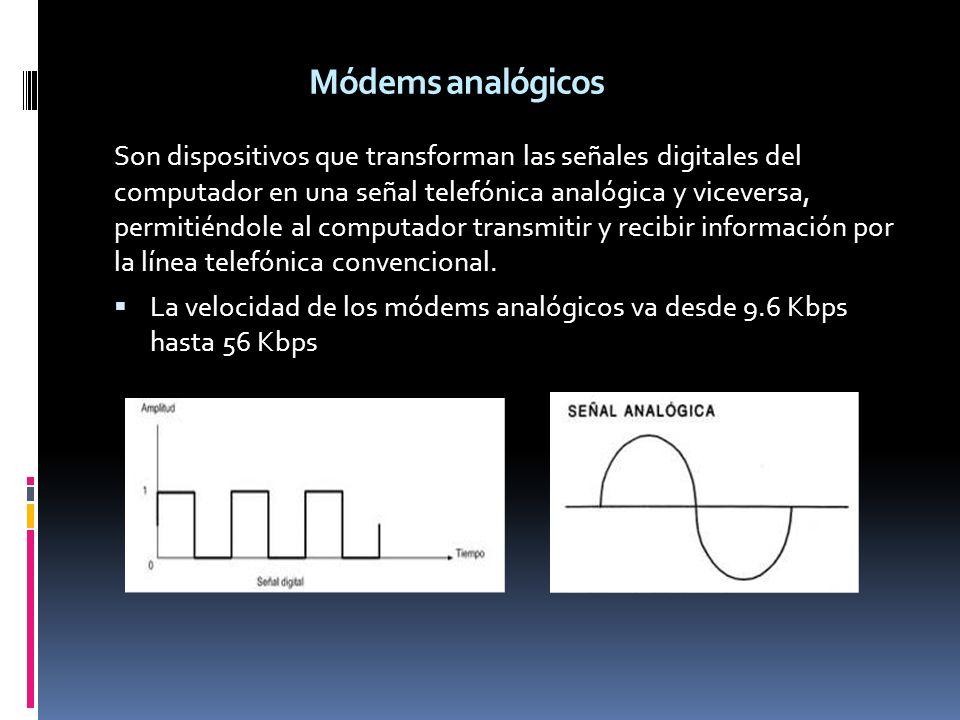 Módems analógicos