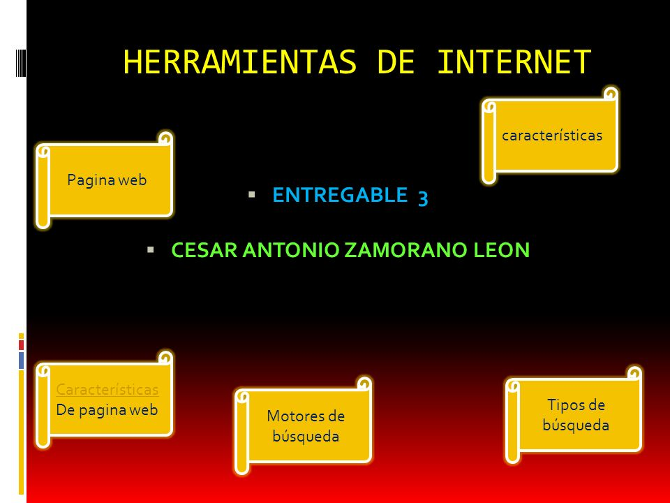 HERRAMIENTAS DE INTERNET