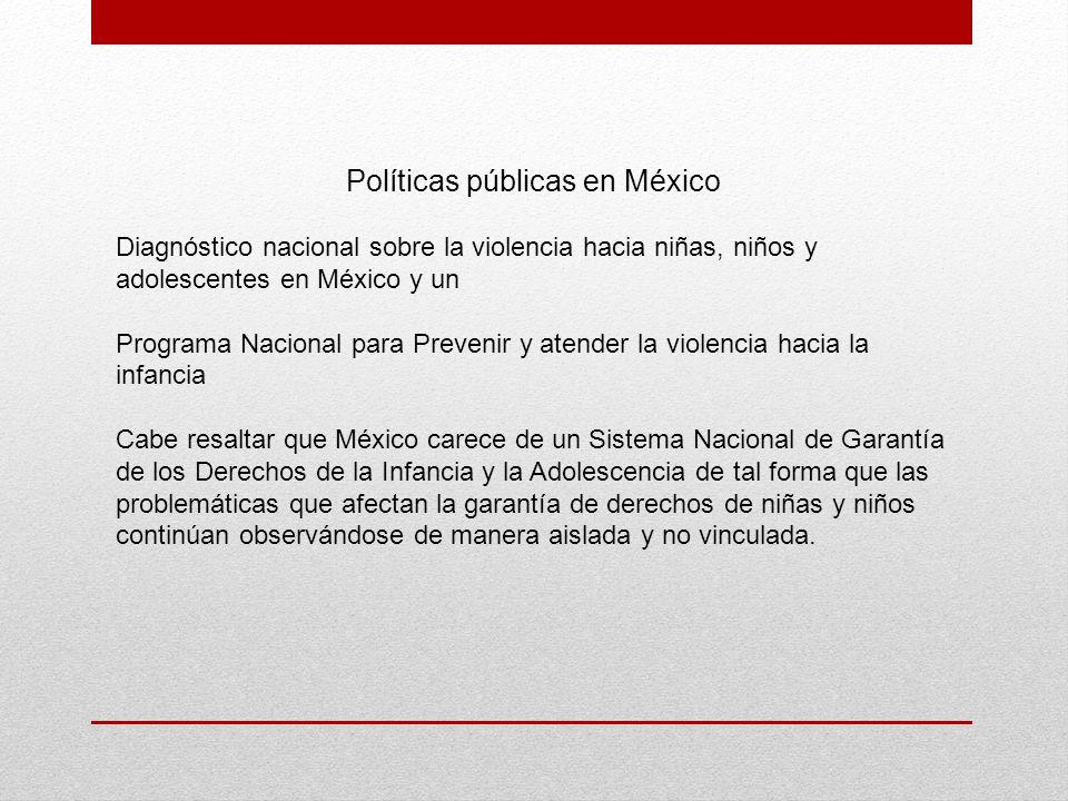 Políticas públicas en México