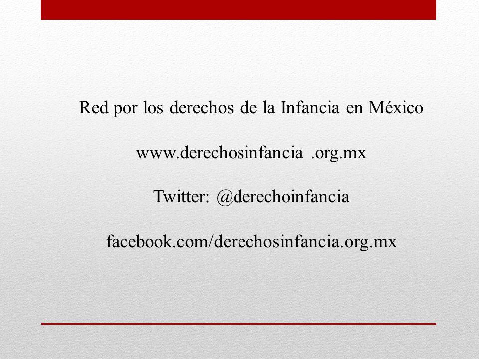 Red por los derechos de la Infancia en México