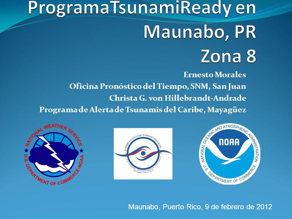 ProgramaTsunamiReady en Maunabo, PR Zona 8