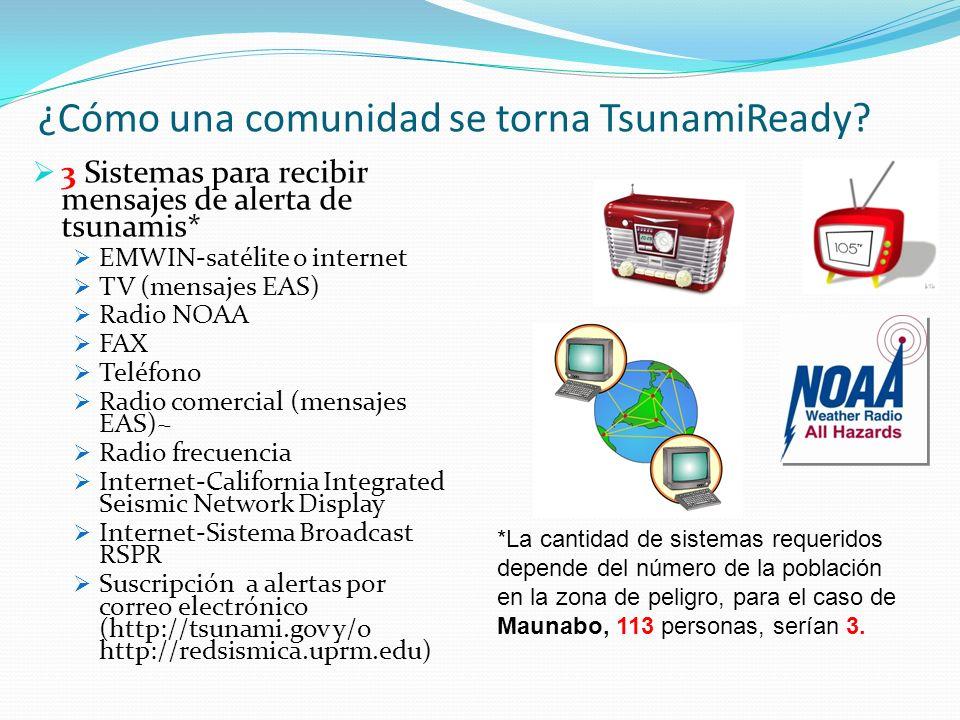 ¿Cómo una comunidad se torna TsunamiReady