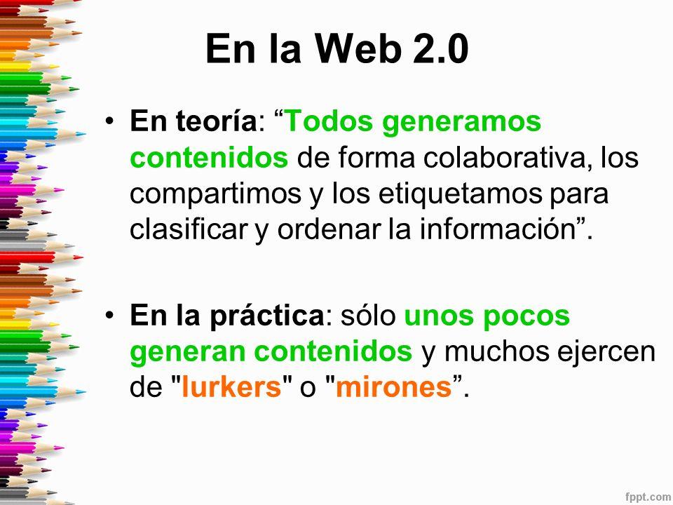 En la Web 2.0