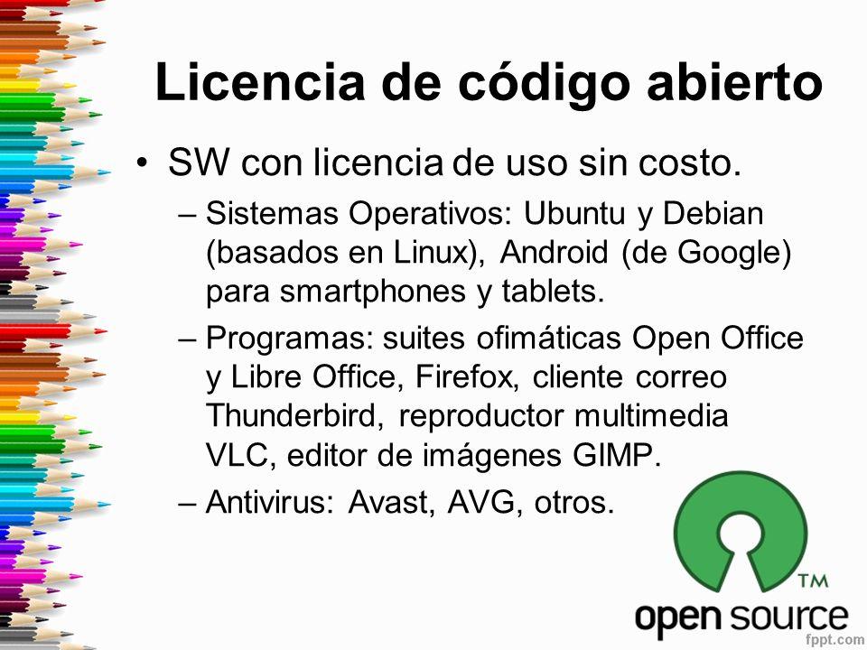 Licencia de código abierto