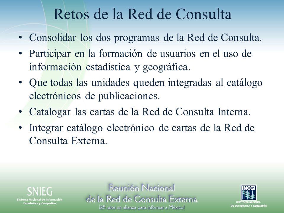 Retos de la Red de Consulta