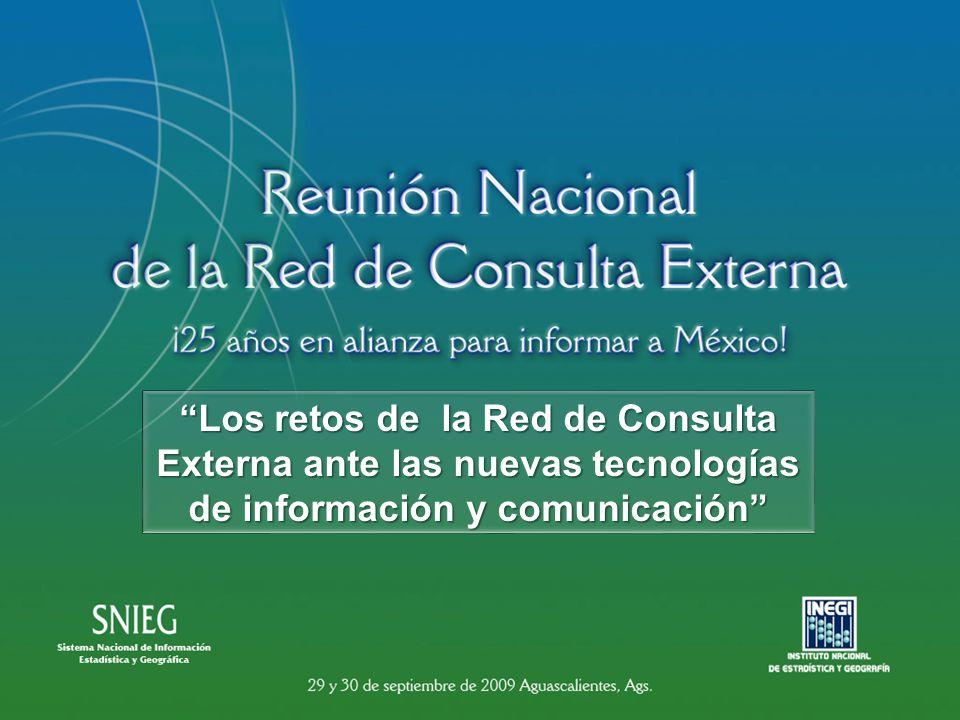Los retos de la Red de Consulta Externa ante las nuevas tecnologías de información y comunicación