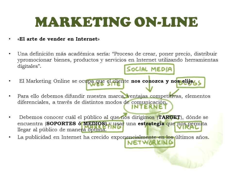 MARKETING ON-LINE «El arte de vender en Internet»