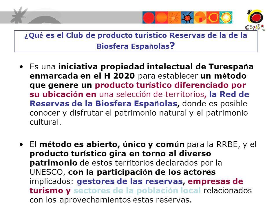 ¿Qué es el Club de producto turístico Reservas de la de la Biosfera Españolas