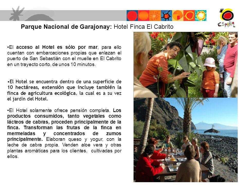 Parque Nacional de Garajonay: Hotel Finca El Cabrito
