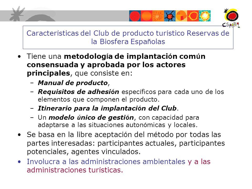 Características del Club de producto turístico Reservas de la Biosfera Españolas