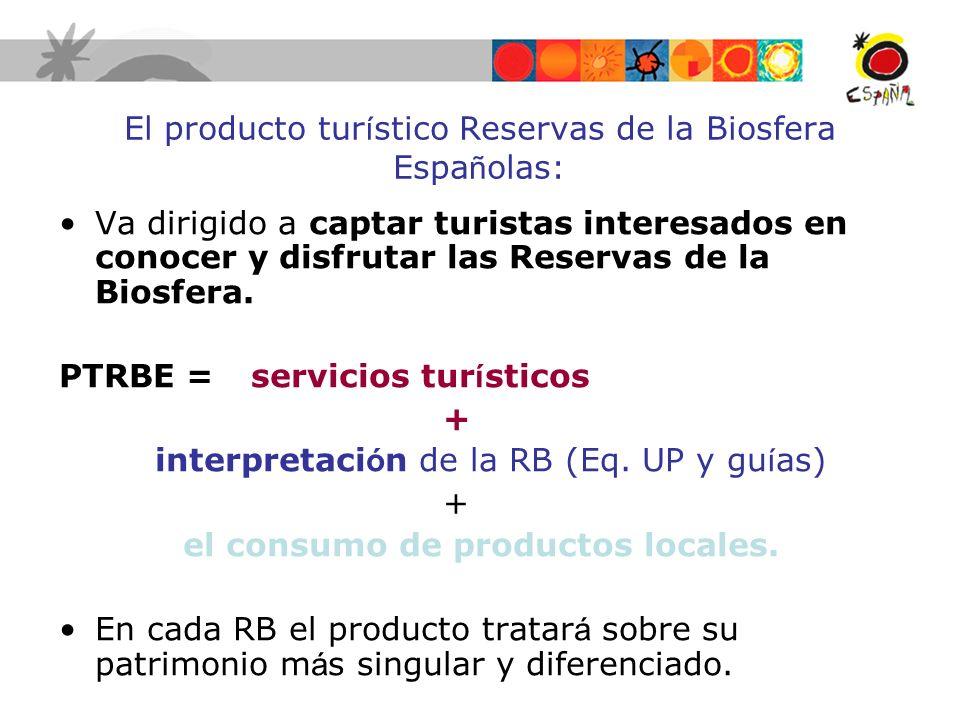 El producto turístico Reservas de la Biosfera Españolas: