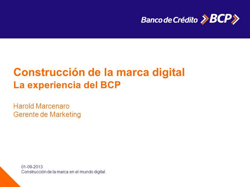 Construcción de la marca digital
